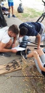 Csoportmunkában történő együttműködés fejlesztés csapatépítő tréning keretében - Kölesd - 2019. 07. 14. #4
