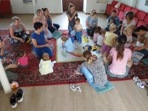 Kisgyermekes családok részére egészsges táplálkozást bemutató program - Kölesd - 2019. 09. 06. #3