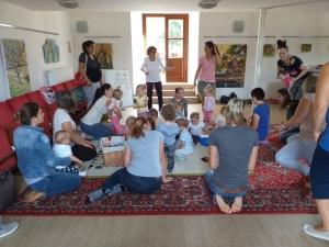 Kisgyermekes családok részére egészsges táplálkozást bemutató program - Kölesd - 2019. 09. 06. #4